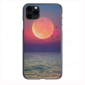 Moon Shine Apple Iphone Samsung Phone Shockproof Case Cover