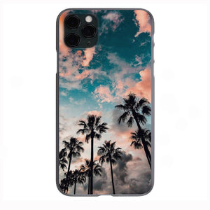 Palm View Skies Apple Iphone Samsung Phone Shockproof Case Cover