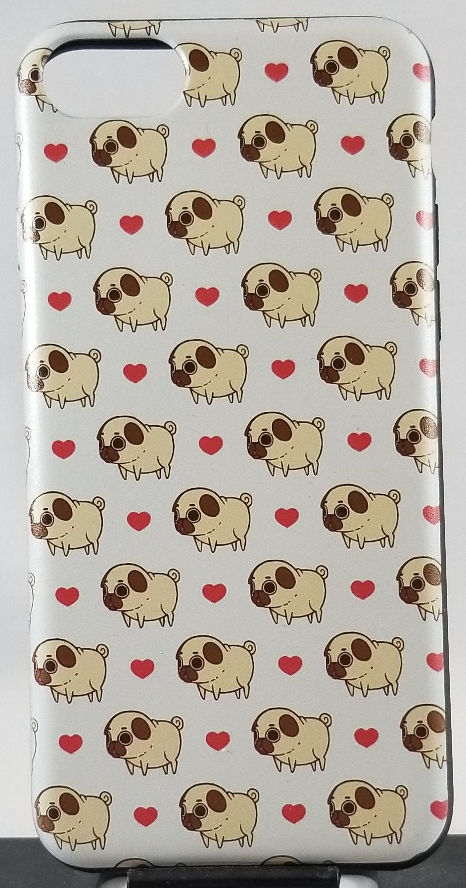 Pug Love Apple Iphone Samsung Phone Shockproof Case Cover