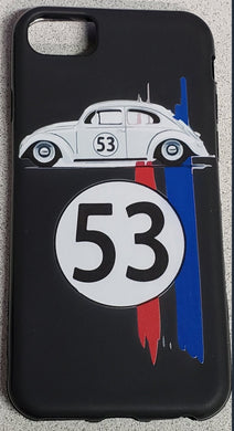 CLASSIC Car Herbie 53 Apple Iphone Samsung Phone Shockproof Case Cover