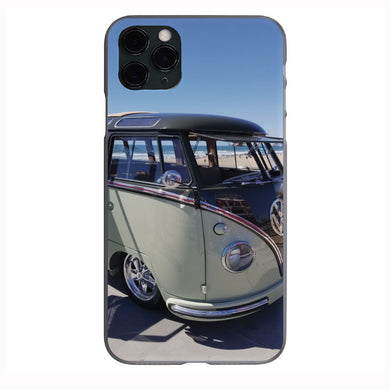 23 Window VW Bus beach scene Apple Iphone Samsung Phone Shockproof Case Cover