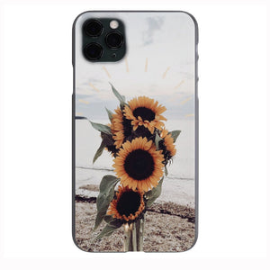 VSCO SunFlowers  on the Sand Apple Iphone Samsung Phone Shockproof Case Cover
