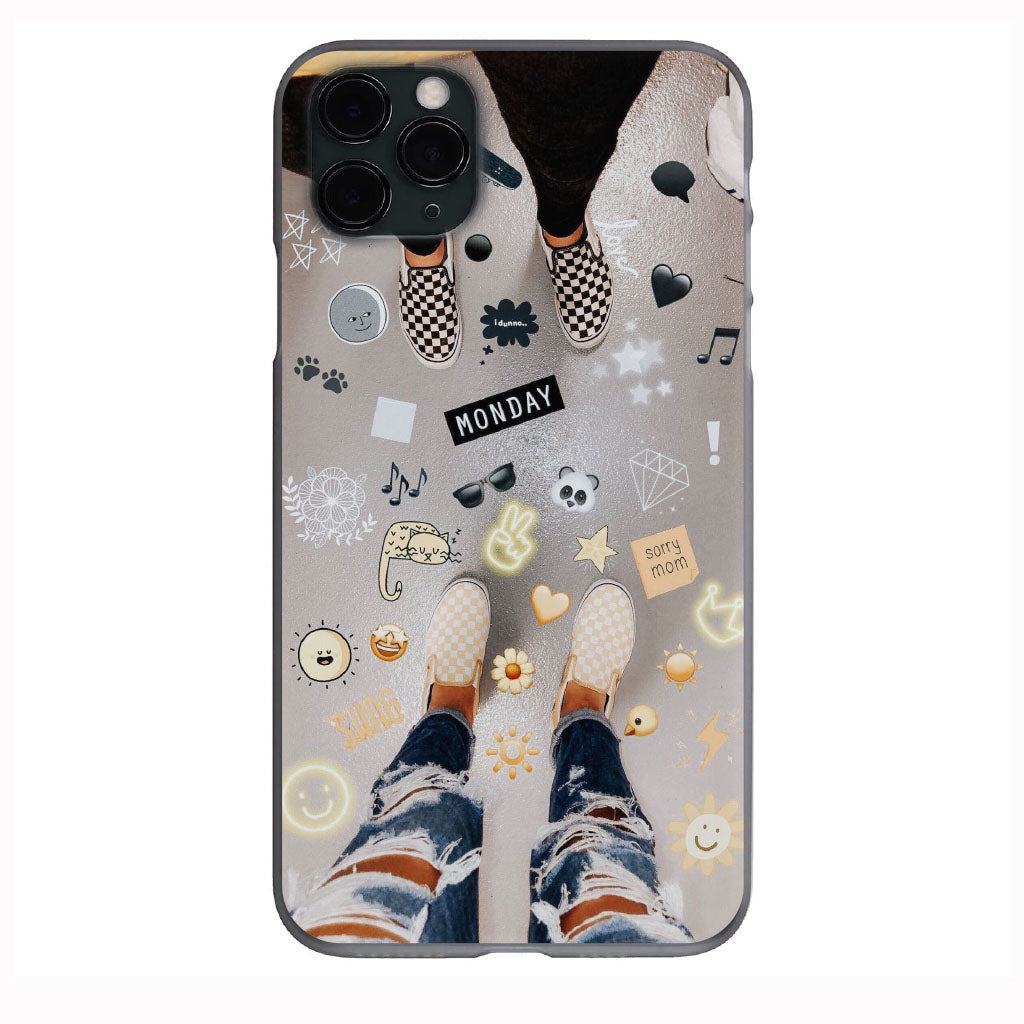 VSCO Monday Vans Vibes Apple Iphone Samsung Phone Shockproof Case Cover