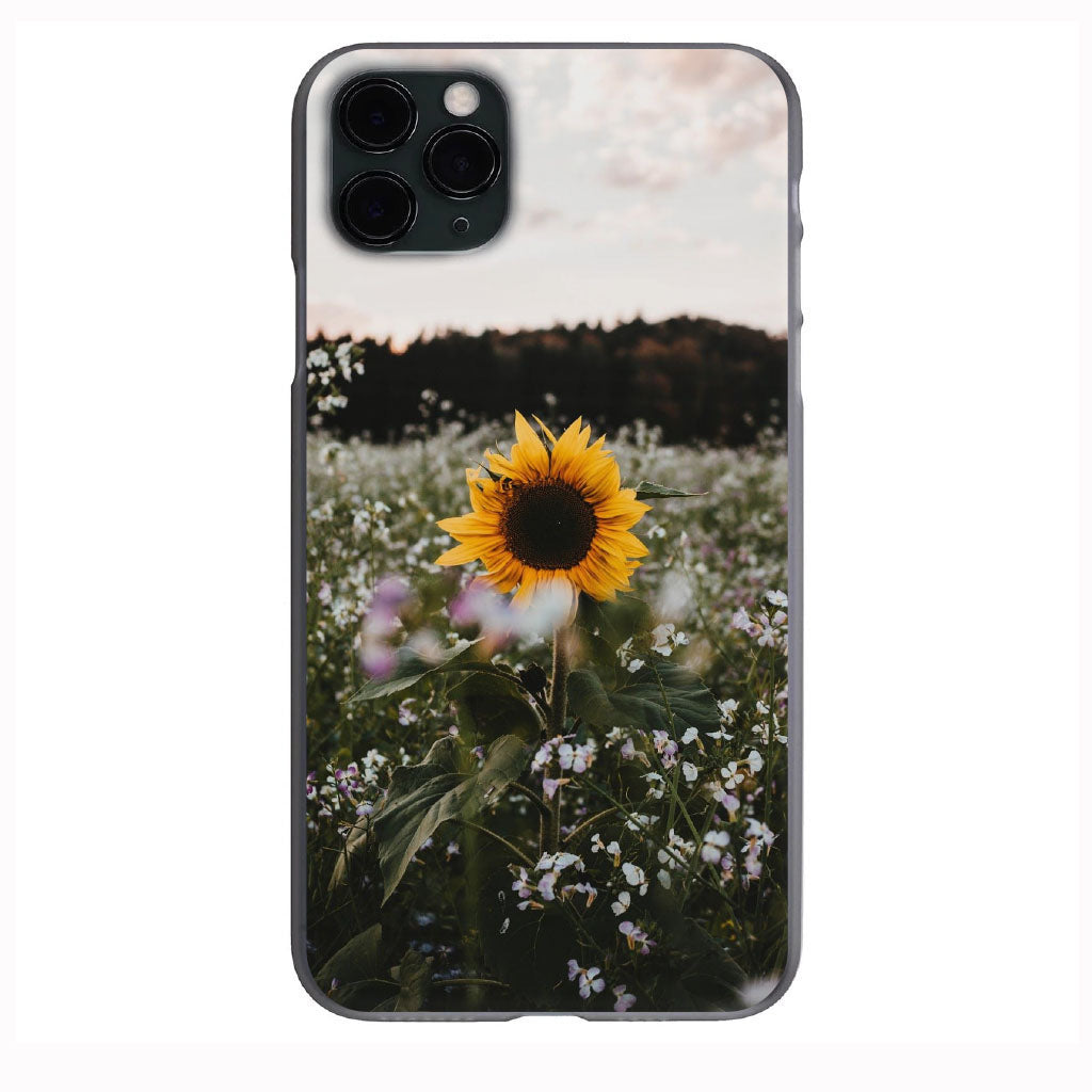 VSCO Lonely Sunflower Apple Iphone Samsung Phone Shockproof Case Cover