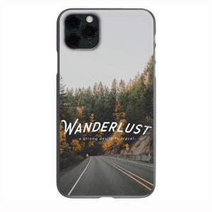 Wanderlust Traveler  Apple Iphone Samsung Phone Shockproof Case Cover