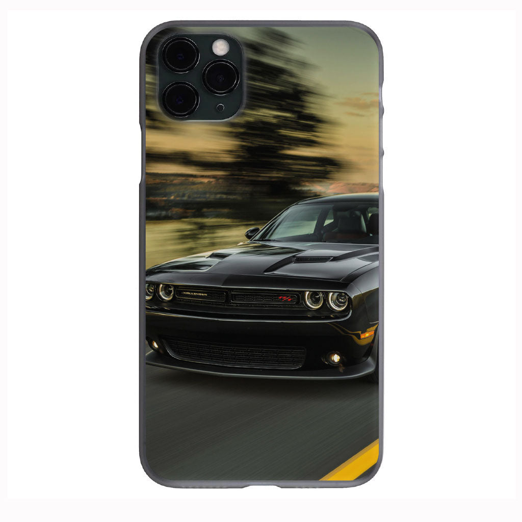 Black Dodge Mopar RT FLy By print Apple Iphone Samsung Phone Shockproof Case Cover