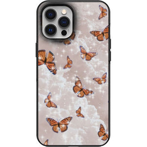 Aesthetic Butterflies in the Clouds Apple Iphone Samsung Phone Shockproof Case Cover