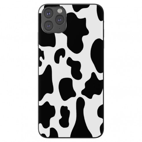 Cow pattern print Apple Iphone Samsung Phone Shockproof Case Cover