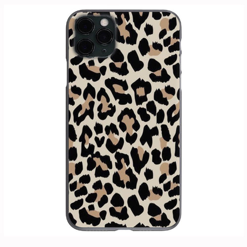 Cute Cheetah Fur print Apple Iphone Samsung Phone Shockproof Case Cover