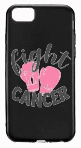 Fight Cancer Pink Gloves Apple Samsung Case Cover