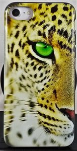 Green Eye Cheetah Phone Case Apple Iphone Samsung Phone Shockproof Case Cover