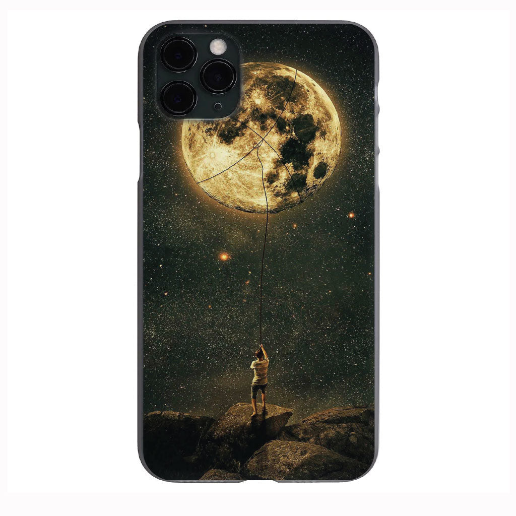 Grip the Moon Jelly Apple Iphone Samsung Phone Shockproof Case Cover