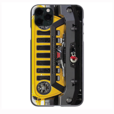Hellayella Yellow Jeep Grill Apple Iphone Samsung Phone Shockproof Case Cover Rubicon Sahara JL JT JK YJ TJ WRANGLER