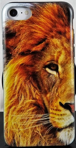 Lions Eye Phone Case Apple Iphone Samsung Phone Shockproof Case Cover