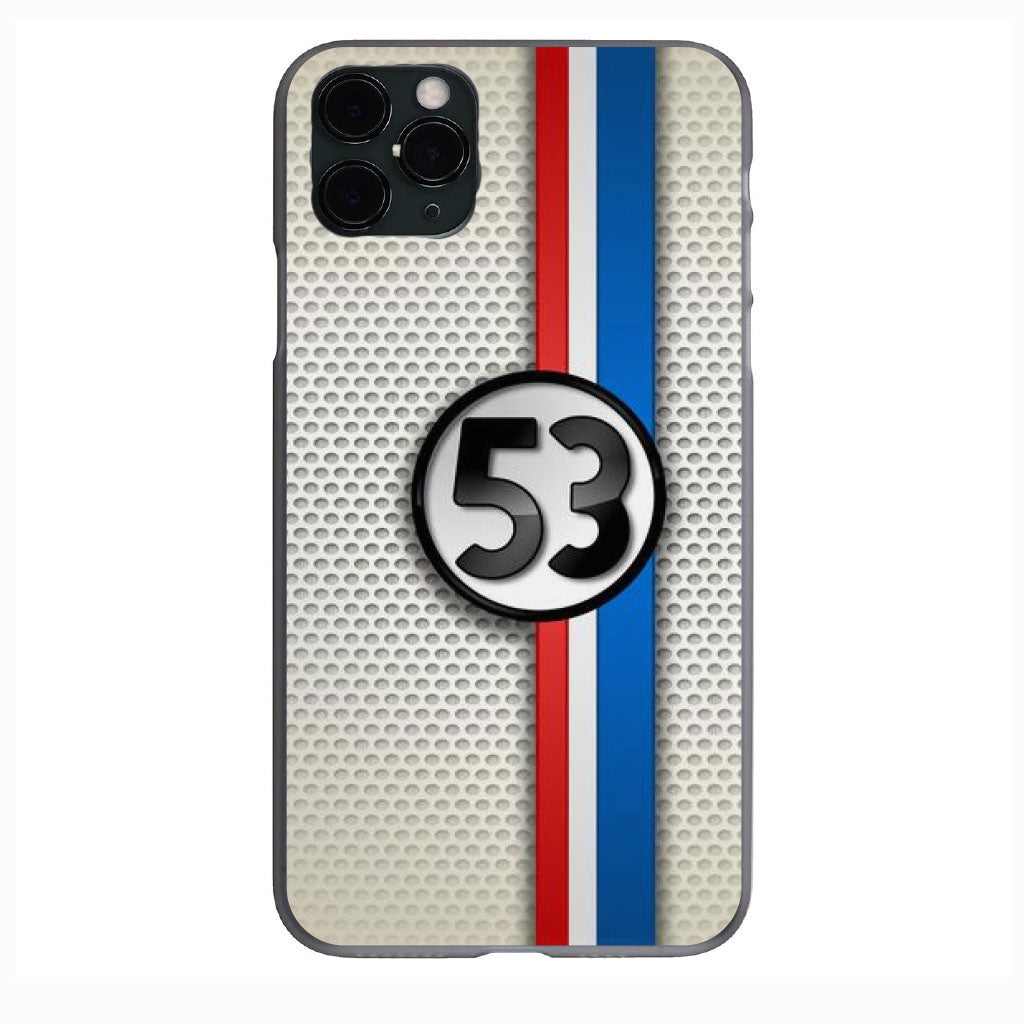 CLASSIC Car Herbie 53 Mesh design Apple Iphone Samsung Phone Shockproof Case Cover