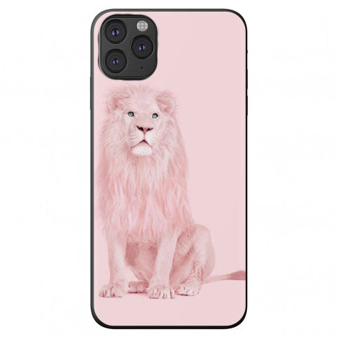 Soft Pink Lion Apple Iphone Samsung Shockproof Case Cover