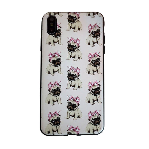 Bandana Pug Love Apple Iphone Samsung Phone Shockproof Case Cover