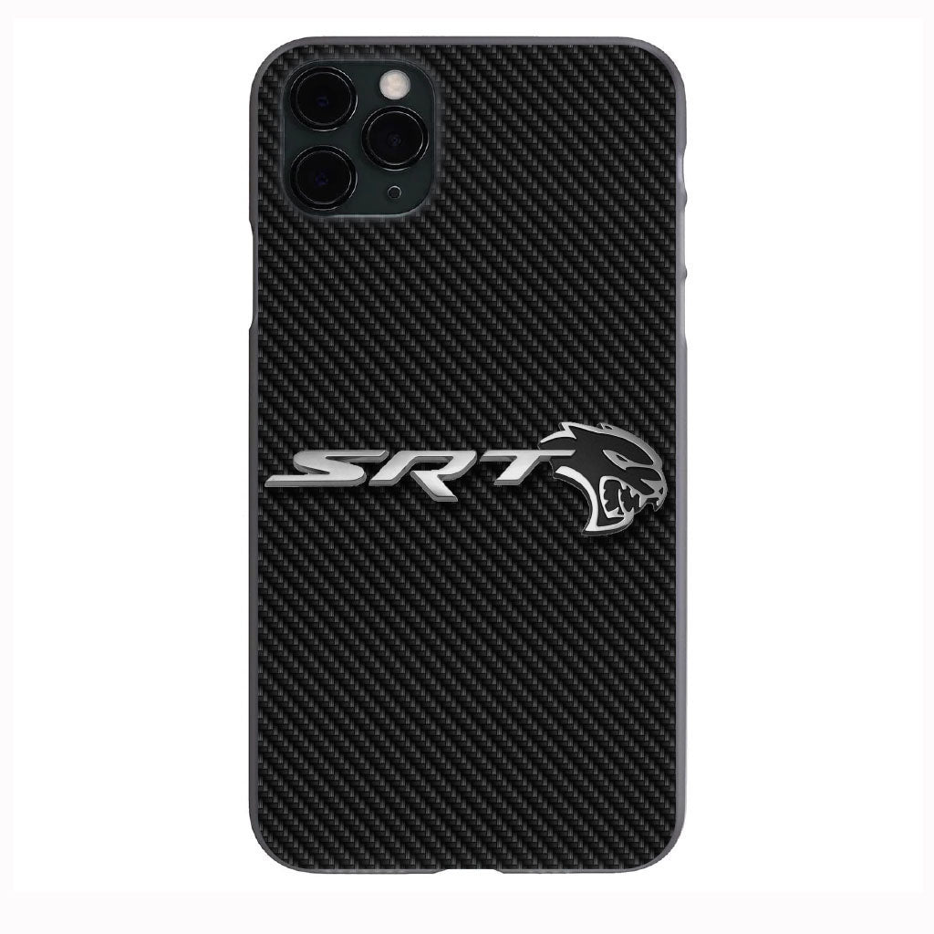 Dodge SRT HELLCAT Carbon Fiber print Apple Iphone Samsung Phone Shockproof Case Cover