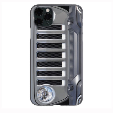Sting Gray Jeep Grill Apple Iphone Samsung Phone Shockproof Case Cover Rubicon Sahara JL JT JK YJ TJ WRANGLER