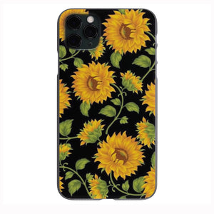 Sunflower pattern Apple Iphone Samsung Phone Shockproof Case Cover