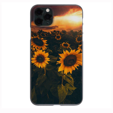 Aesthetic Sunflower Field Apple Iphone Samsung Phone Shockproof Case Cover