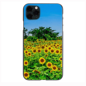 Sunflower Wild Field Apple Iphone Samsung Phone Shockproof Case Cover