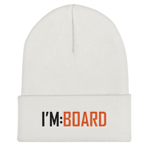 imboard i'm:board onsdagscruiser trucker beanie hue embroidery broderi skateboard furniture
