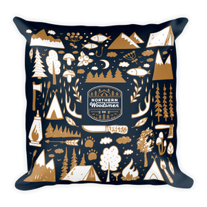 Northern Woodsmen / Pillow