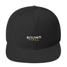 Roundwall snapback hat onsdagscruiser embroidery black