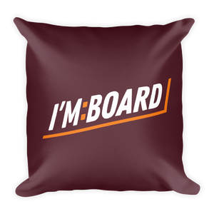 I'm:Board Bar / Pillow