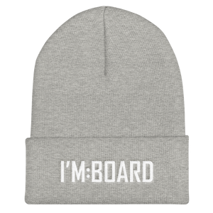 imboard i'm:board onsdagscruiser beanie simple logo skateboard furniture heather
