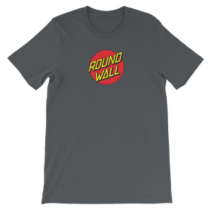 Roundwall old school skateboard t-shirt onsdagscruiser dot asphalt