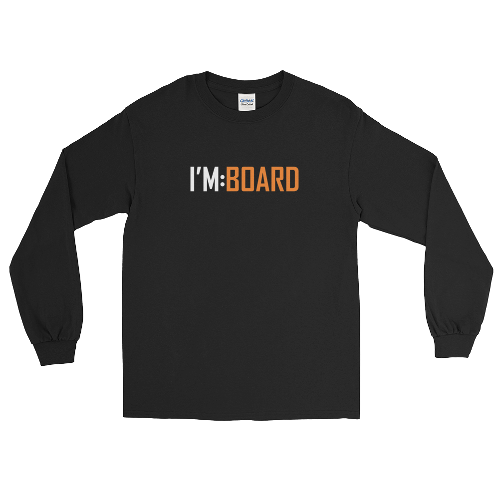 imboard i'm:board onsdagscruiser skateboard furniture longsleeve t-shirt 2tone
