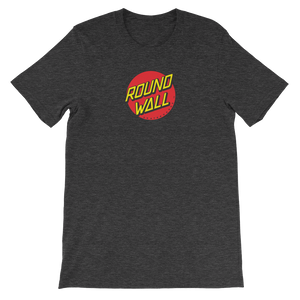 Roundwall old school skateboard t-shirt onsdagscruiser dot