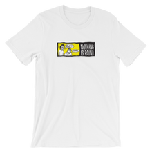 roundwall nothing is round t-shirt skateboard classic