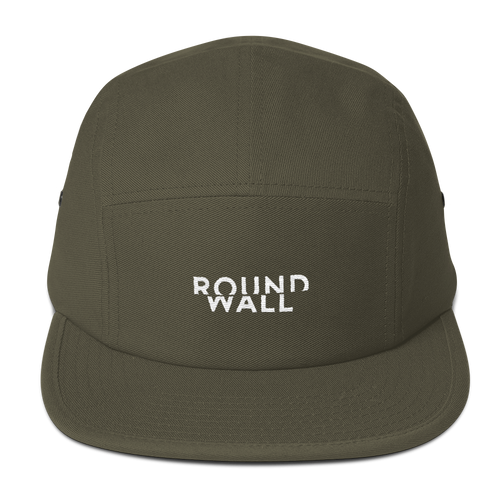 Roundwall 5-panel camper cap hat onsdagscruiser skateboard