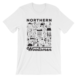 Northern Woodsmen Doodle / T-Shirt