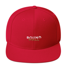 Roundwall snapback hat onsdagscruiser embroidery red