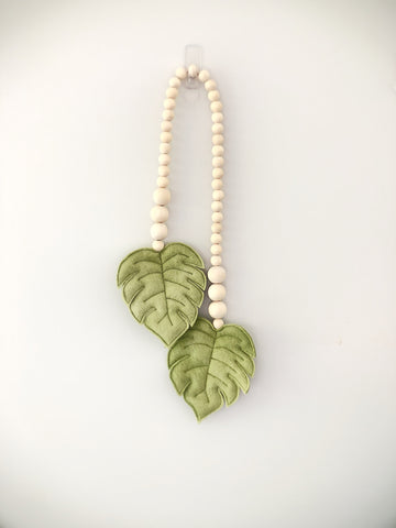 Monstera Leaf Garland