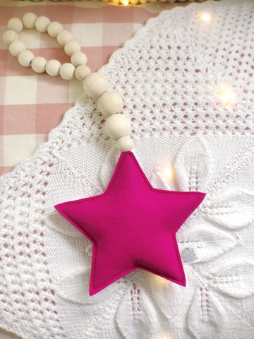 Star Drop FUCHSIA - Ready To Ship