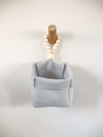 Hanging Wool Felt Basket
