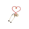Steth Heart Brooch Pin