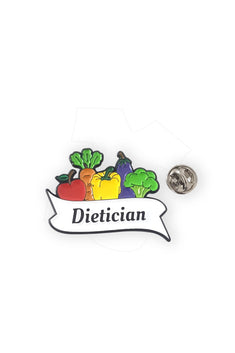Vegetable Dietician Pin