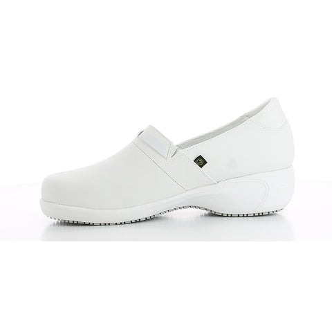LUCIA - ELEGANT PROFESSIONAL SHOE IN LEATHER WITH HEEL