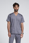 Men's Mesh Panel 3 Pkt V-Neck Top 5308