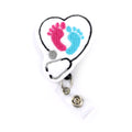 BABY FEET STETH ID BADGE