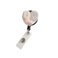 Breast Cancer Crystal ID Badge