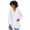"Women's 32"" 3 Pocket Princess Seam Solid Labcoat 7403"