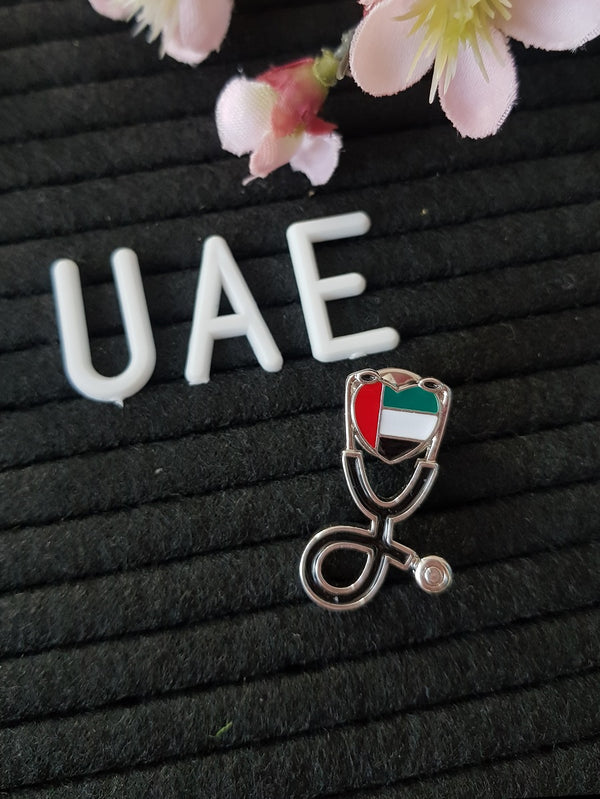 UAE Flag Pin