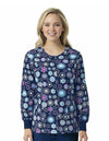 Floral Eclipse Warmer Jacket